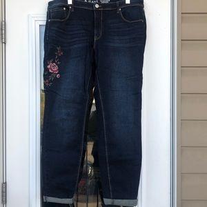 Reitmans Floral Jeans